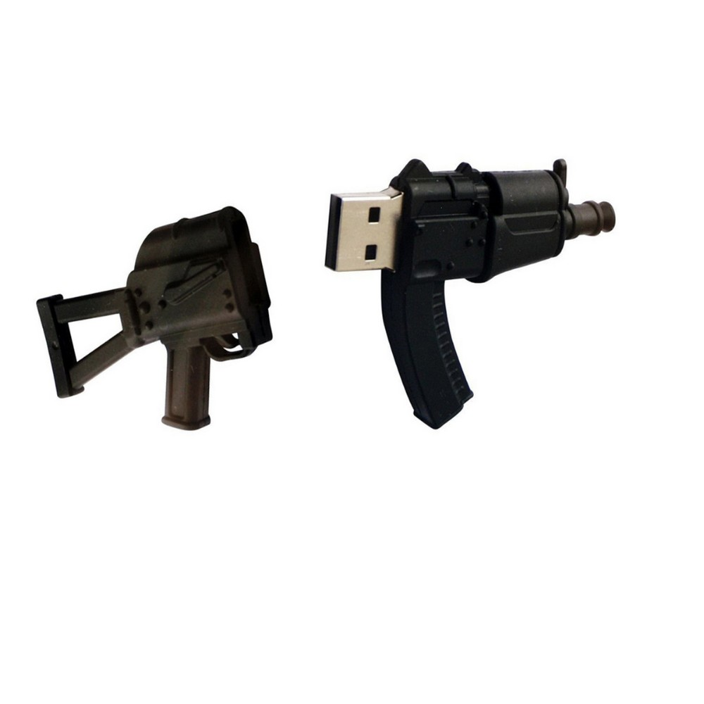 2017 new 3D cartoon emmagee machine gun shape usb flash drive