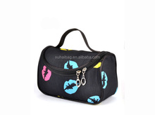 Wholesale cheap large toiletry cute cosmetic makeup tote bags