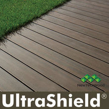 co-extrution WPC decking , UltraShield by NewTechWood