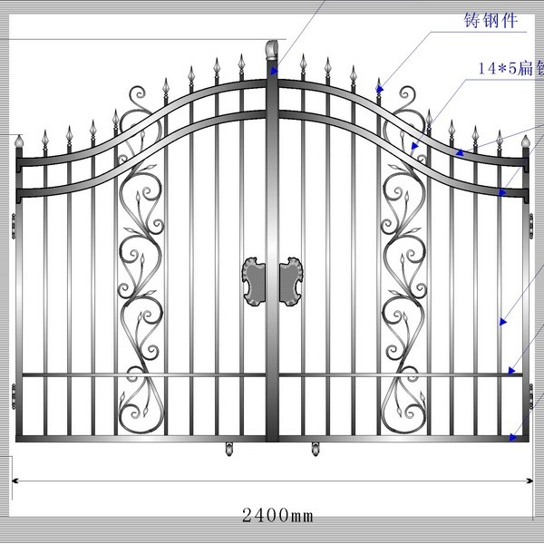 Latest Design Iron Doors And Windows Steel Door Designs