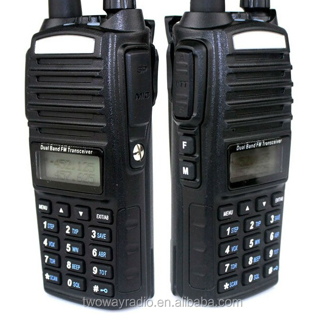 Cheap sale dual band baofeng uv-82 walkie talkie two way