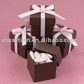 pink ribbon chocolate box