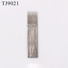Free OEM Design Eyebrow Tattoo korea popular microblading needle 7 Pins for Pens