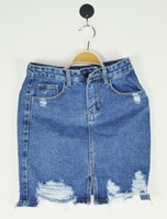 wholesale ladies denim shorts jeans skirts mini skirt for wholesale