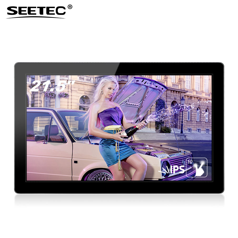 22 inch ips panel open frame touch lcd portable video player commercial screen ultra wide tft