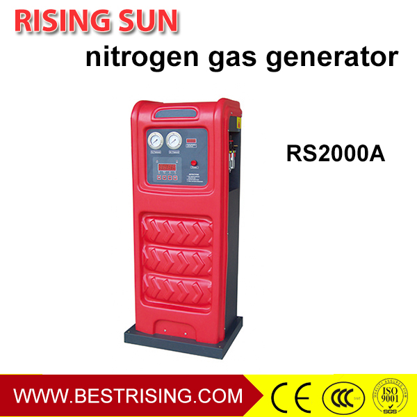 Nitrogen generator used tire equipment for workshop