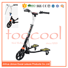 HY-01 CE EN71 flog three wheel swing scooter for kids