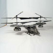 Big size twin-screw 2.4G over 50 meters control distance with Gyro 4.5 channel outdoor rc helicopter