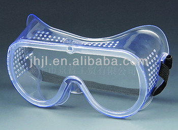 PVC Protective Goggles with Black Elastic Band