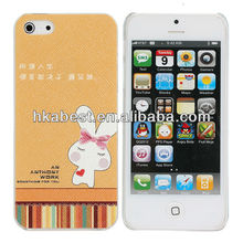 New Arrival Cute Animal Case For iPhone 5,Hot Sale For iPhone 5 Phone Case