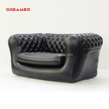black color air couch