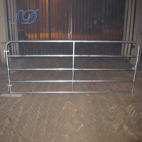 5 Bar Corral Panel Fence Cattle Fencing With Double High Gate