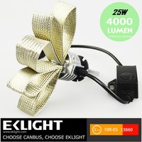 EK High Lumen Brightness Super Brightness Headlight 25w Best H4 Car Headlight Bulbs 6000k Default