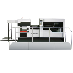 Paper Box Flat Bed Automatic Die Cutting Creasing Machine