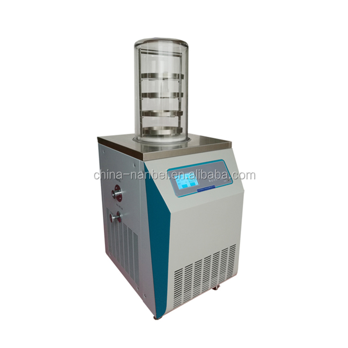 China chemical lab scale used refrigerated vacuum freeze dryer for sale