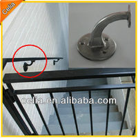 78mm height aluminum alloy handrail support brackets