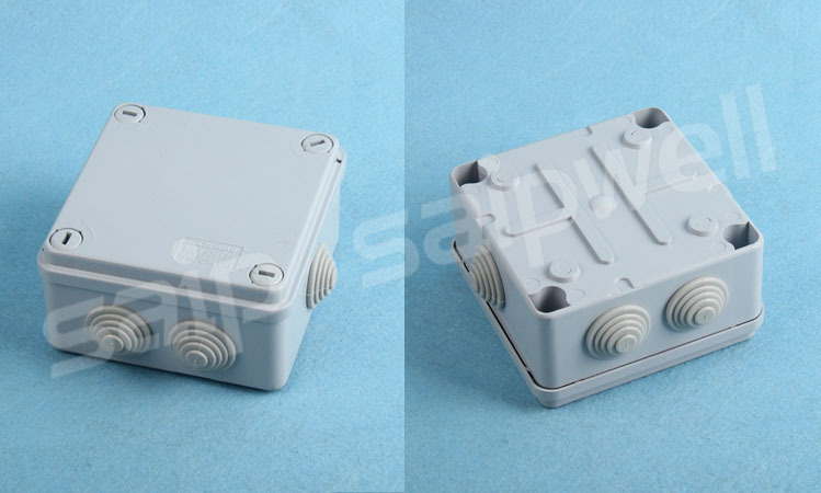 2015 China High Quality Waterproof Junction Box IP65 With Cable Gland