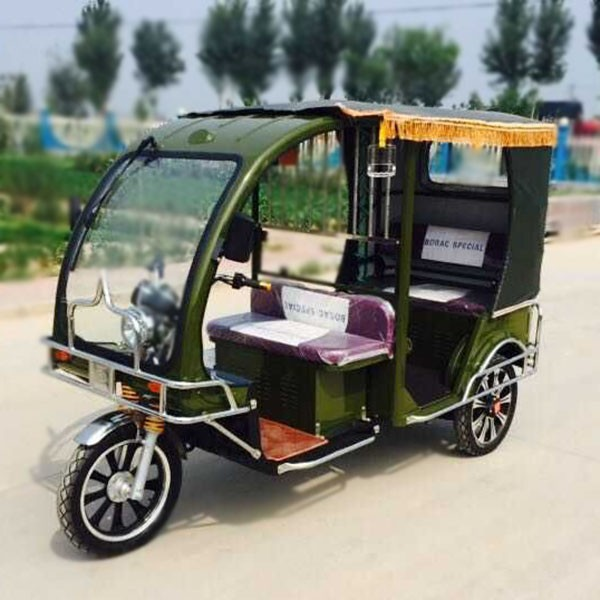 60V1000W Electric Tuktuk Auto Rickshaw 3 Wheeler Taxi / Borac Model Hot Selling In Bangladesh
