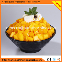 Automatic snow fruit ice cream making machine
