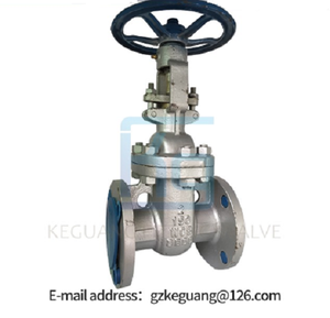 Top Selling 4,6,8,12 inch flange stainless steel gate valve