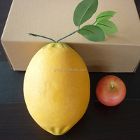Handy craft artificial large plastic fruits for decoration