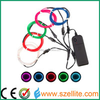 High Quality Wholesale Multi Color Neon EL wire rope el wire manufacturer