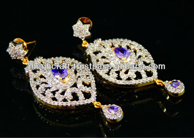 Indian exclusive party wear earring - Bollywood style pearl earring - Wholesale buying earring