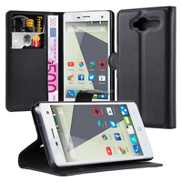 Classic Flip Leather Book Style Cover Mobile Case For ZTE Blade L3