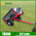 Small ATV trailer tow behind ATV and tractor