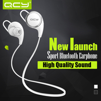 New model sport stereo earbuds QCY QY8 wireless bluetooth headphone