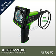 "Industrial 3.5"" LCD Video Inspection Endoscope 3m Pipe Car 9mm LED Camera Scope"