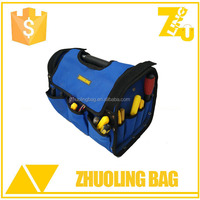 2016 Durable carpenters tool bag with steel handle and cover