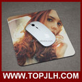 2017 customized promotional rubber mouse pad for sale