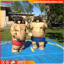 2016 Inflatable padded sumo suits/ inflatable sumo Wrestling for sale