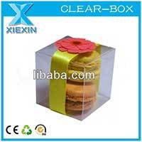 Eco Friendly Pp Macaron Packaging Box