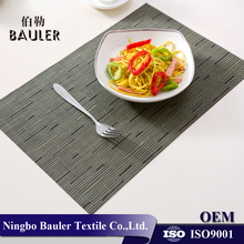 Popular new design PVC cheap custom placemat