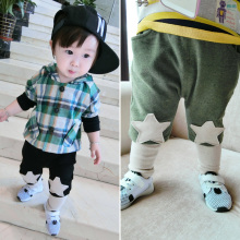 Baby Boy's Star Pattern Patchwork Soft Harem Pants Of China Products