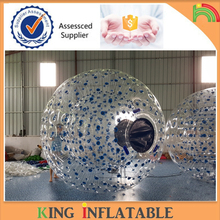 Hot Sale Inflatable Grass Zorb Ball Human Hamster Ball