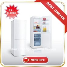R-185BK double door mini fridges