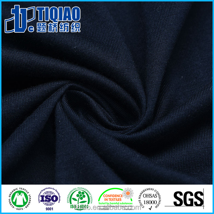 Comfortable Supima and modal blended leisure wear knit fabric