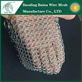 pan cleaning scrubber chainmail scrubber