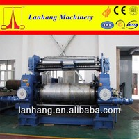 Two roll Rubber Mixing Mill with Stock Blender