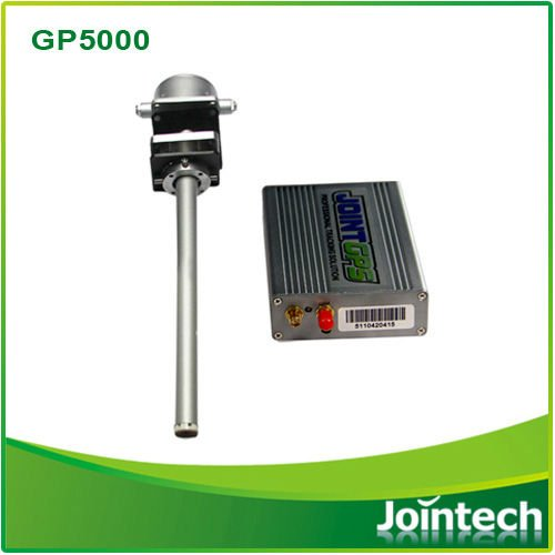 GPS fuel consumption solution to monitor the fuel level change in real time