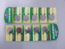Cr2032 button cell battery with 3v lithium made in China