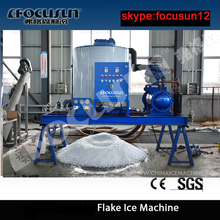 industrial ice maker manufacturer 10T/24hrs flake ice machine used on fish boat