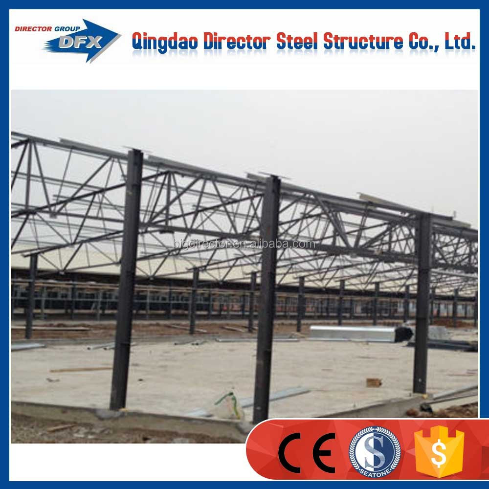 professional design automatic commercial prefabricated steel structure poultry house