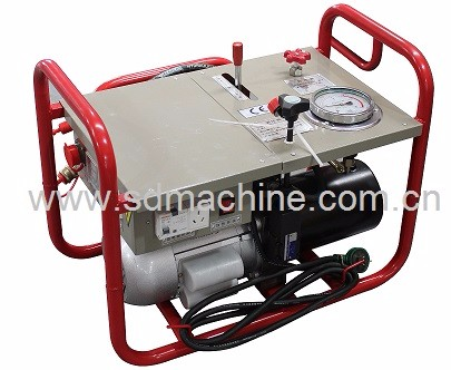 Hydraulic Butt Fusion Plastic Pipe Welding Machine