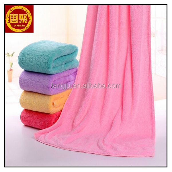 Wholesale China manifold Color Absorbent microfiber bath /hotel/shower towel