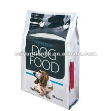 stand up dog treats packaging pouch/aluminum foil packaging bags for dog food