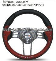 LADA auto replacement parts 330mm PVC/PU/Leather Steering Wheel